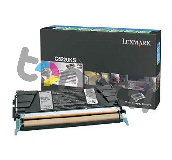 Lexmark C522 Värikasetti Musta C5220KS
