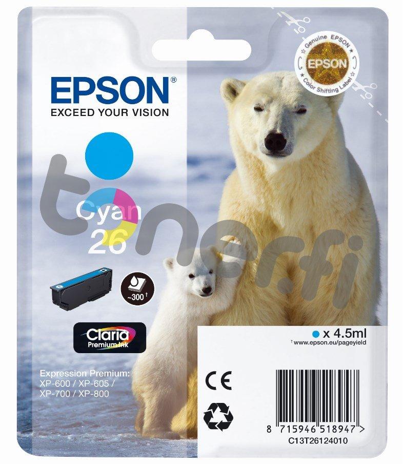 Epson C13T26124010 Muste Sininen