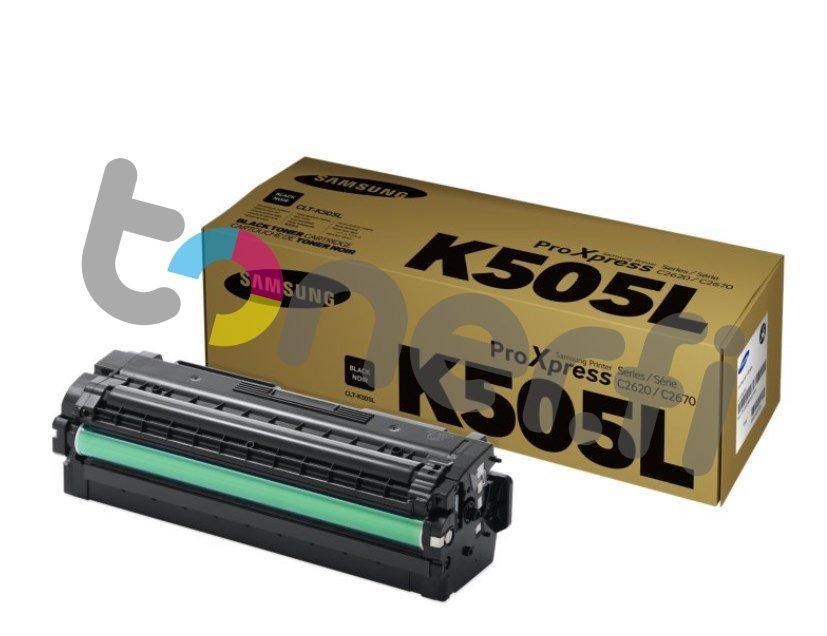 Samsung CLT-K505L Värikasetti Musta