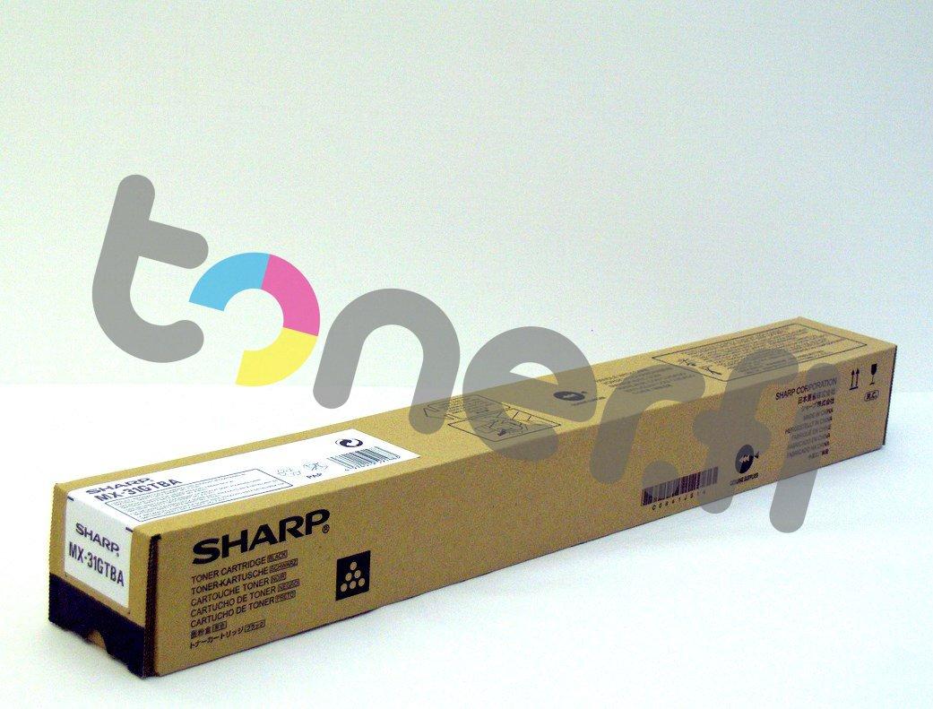 Sharp MX-31GTBA Värikasetti Musta