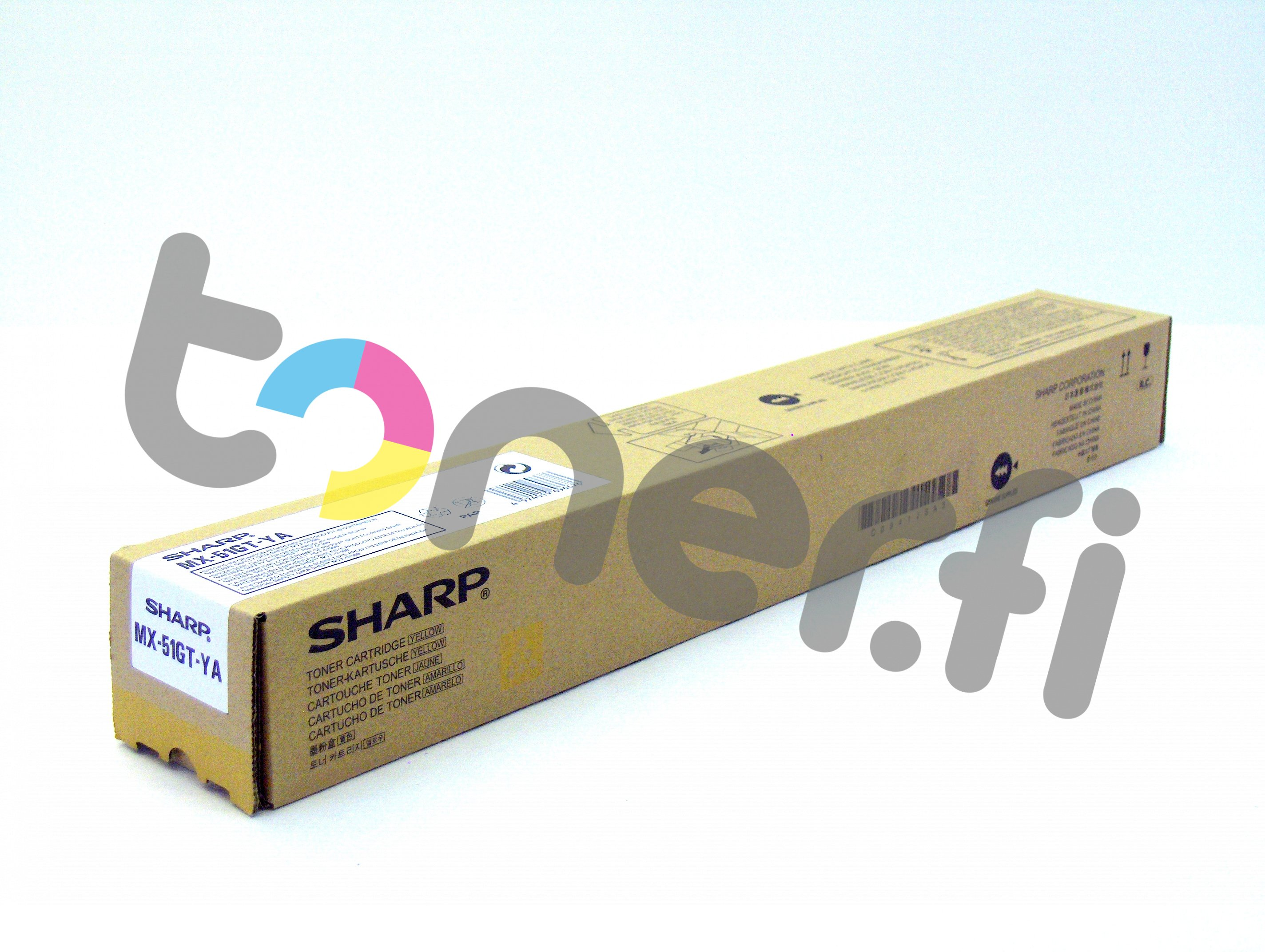 Sharp MX-51GTYA Värikasetti Keltainen