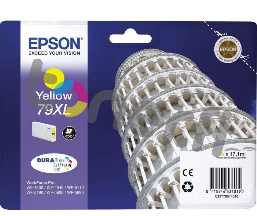 Epson C13T79044010 XL Muste Keltainen