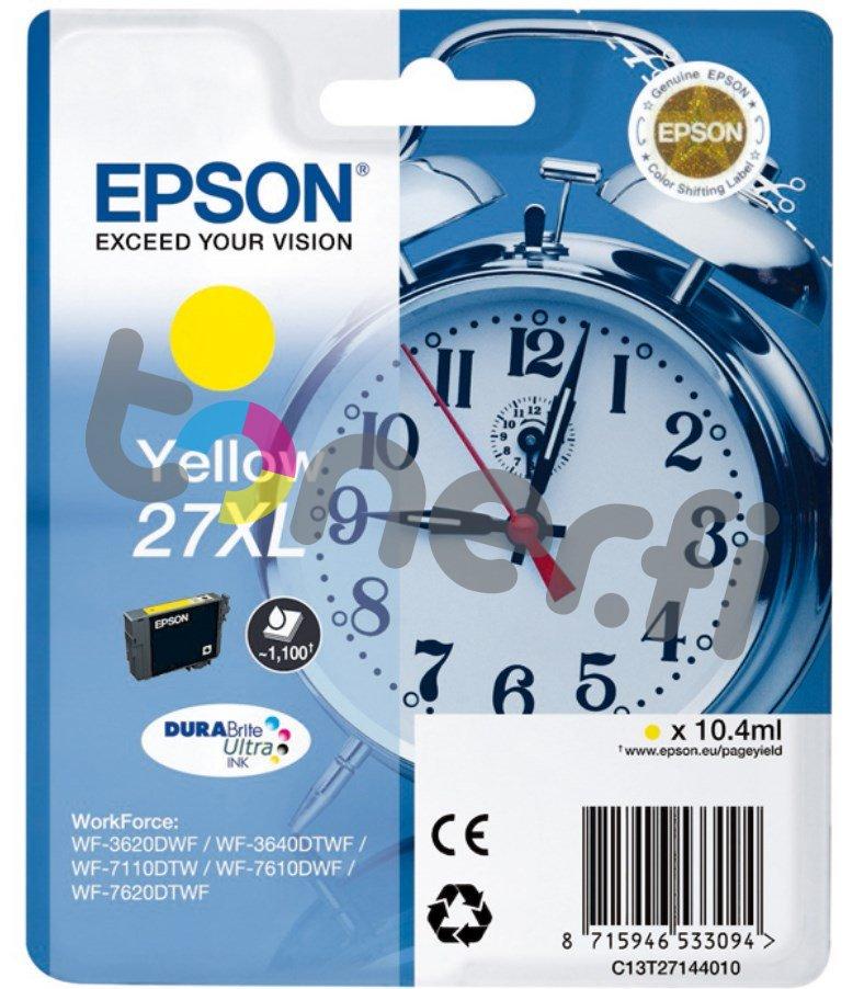 Epson C13T27144010 XL Muste Keltainen