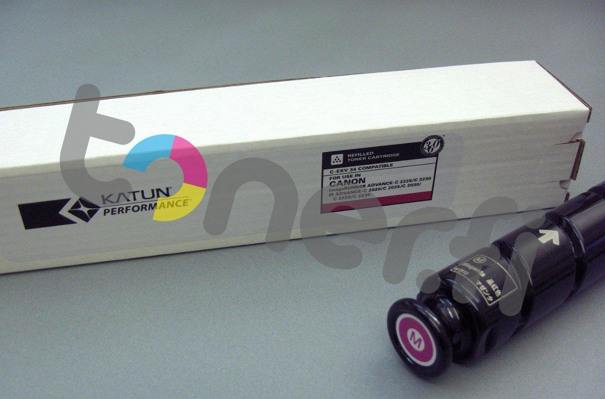 Canon C-EXV34 Värikasetti Punainen Katun p/n 43650