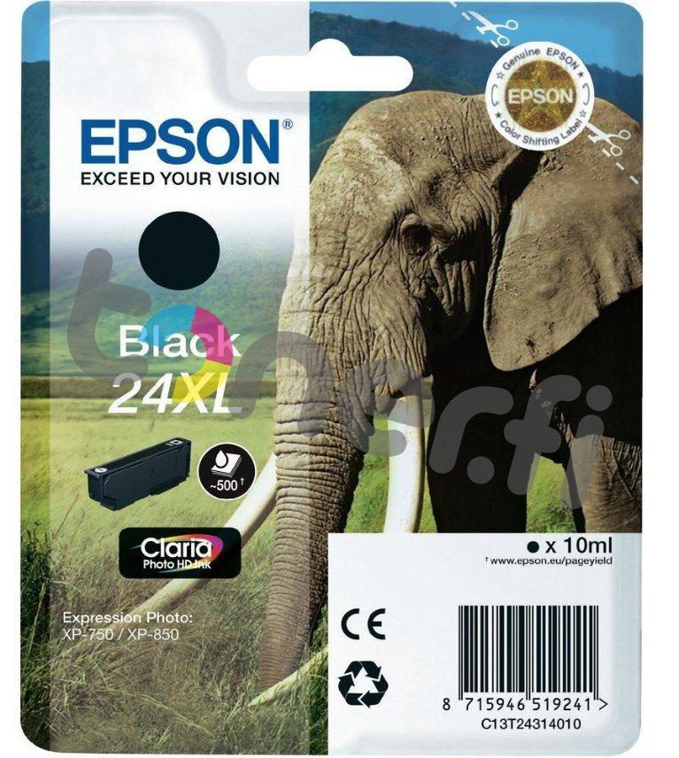 Epson C13T24314010 XL Muste Musta