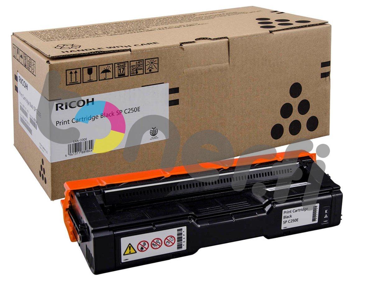 Ricoh SP C250E Print Cartr. Musta