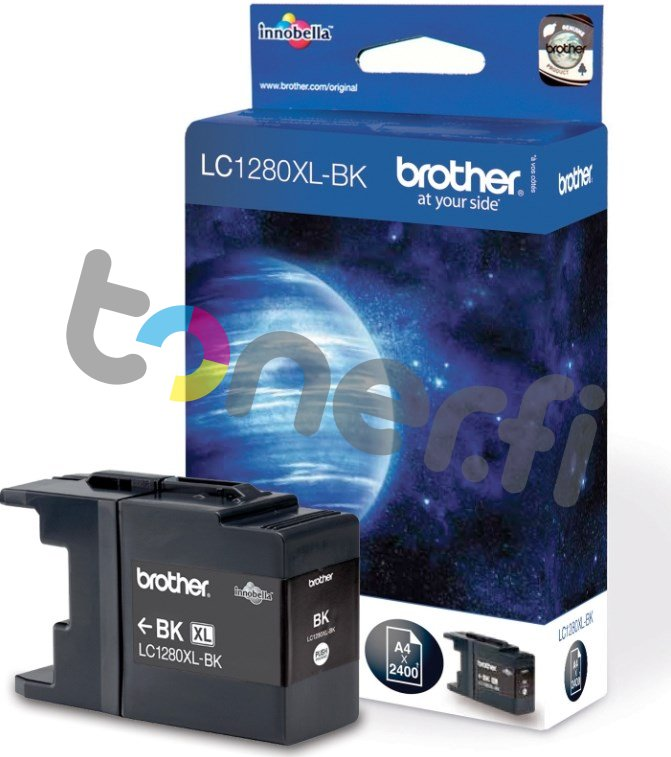 Brother LC1280XL-BK Muste Musta