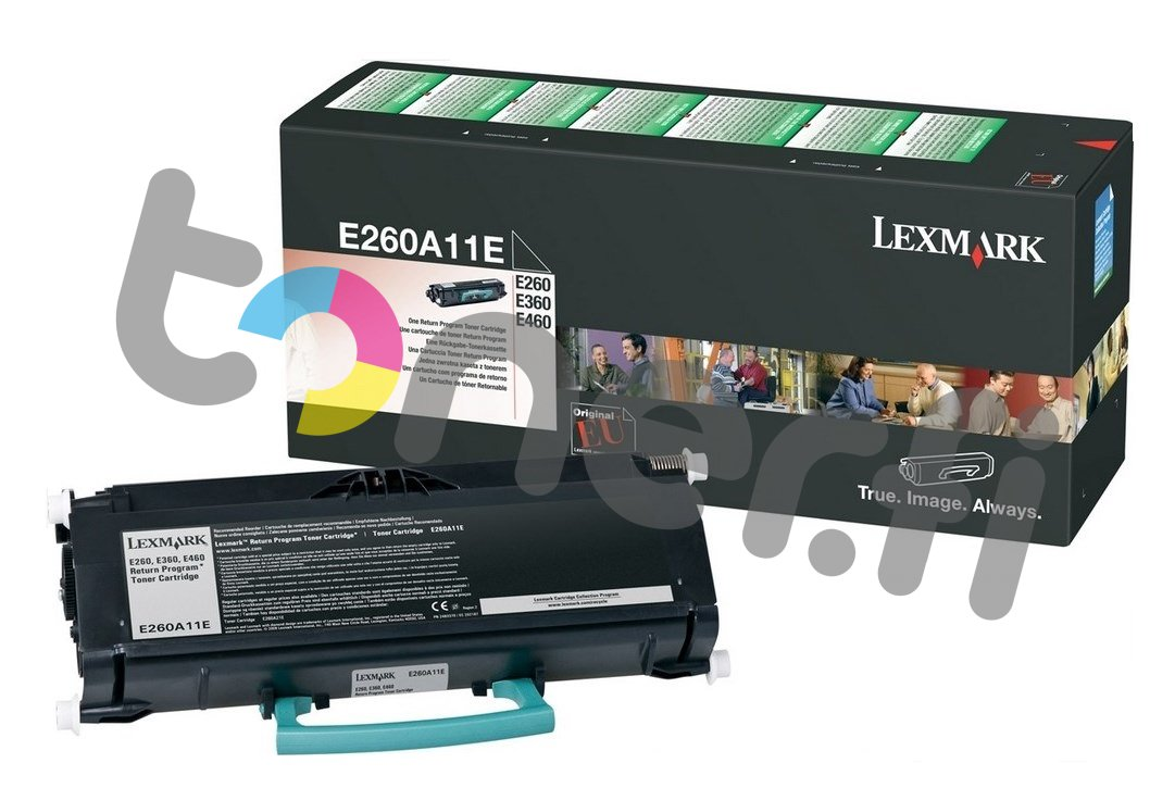 Lexmark E260 Värikasetti E260A11E