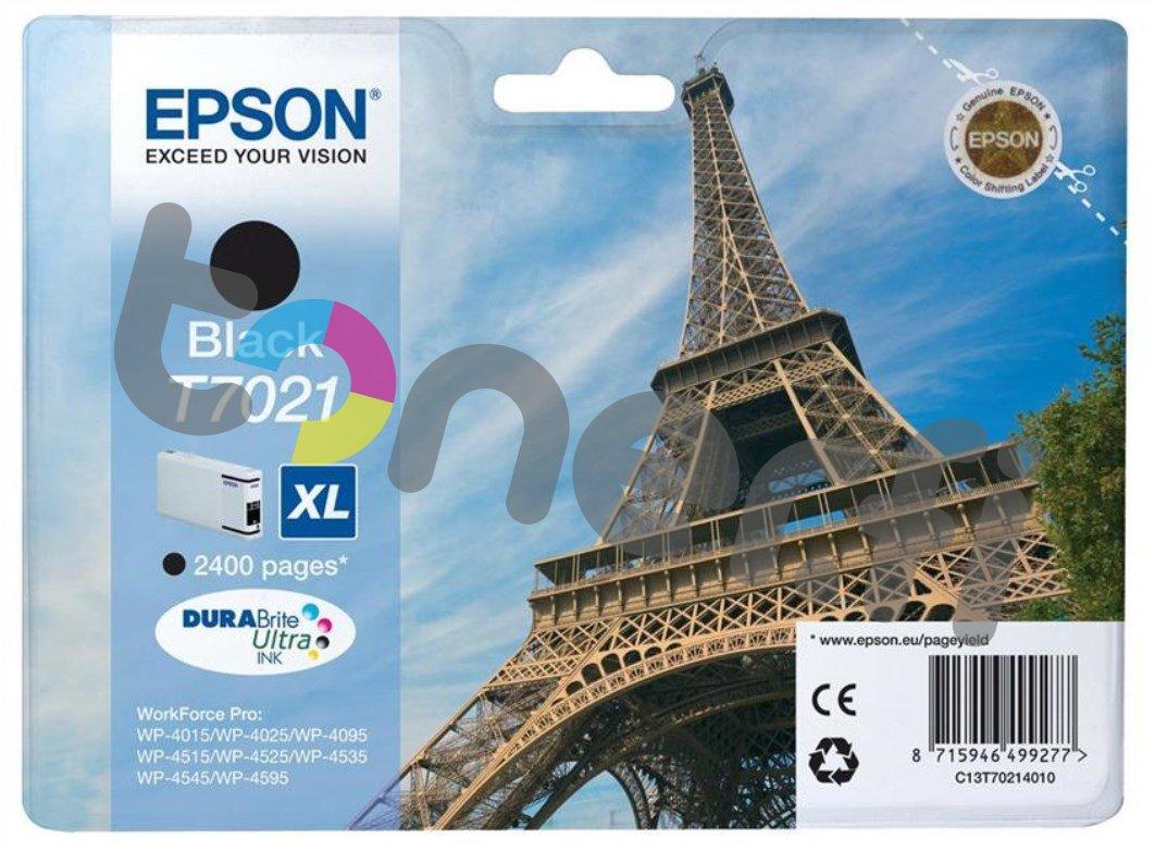 Epson C13T70214010 XL Muste Musta