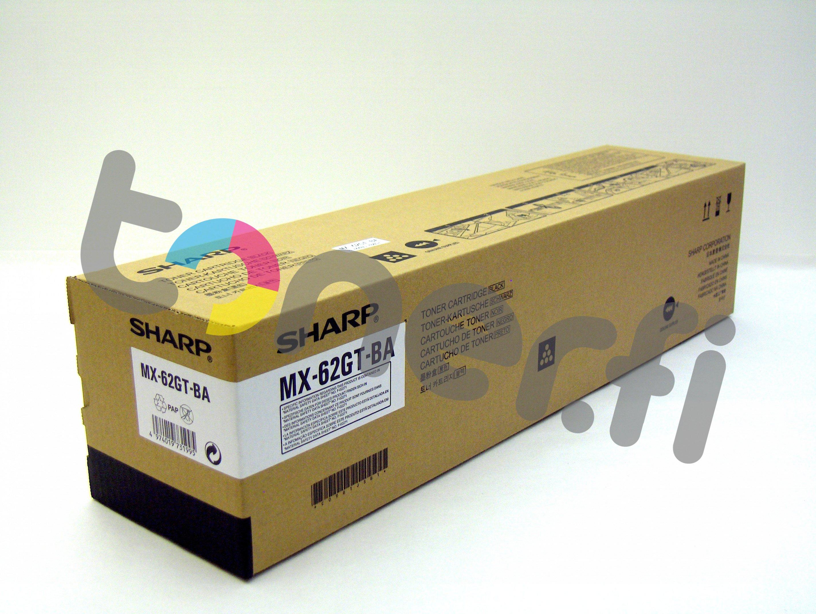 Sharp MX-62GTBA Värikasetti Musta