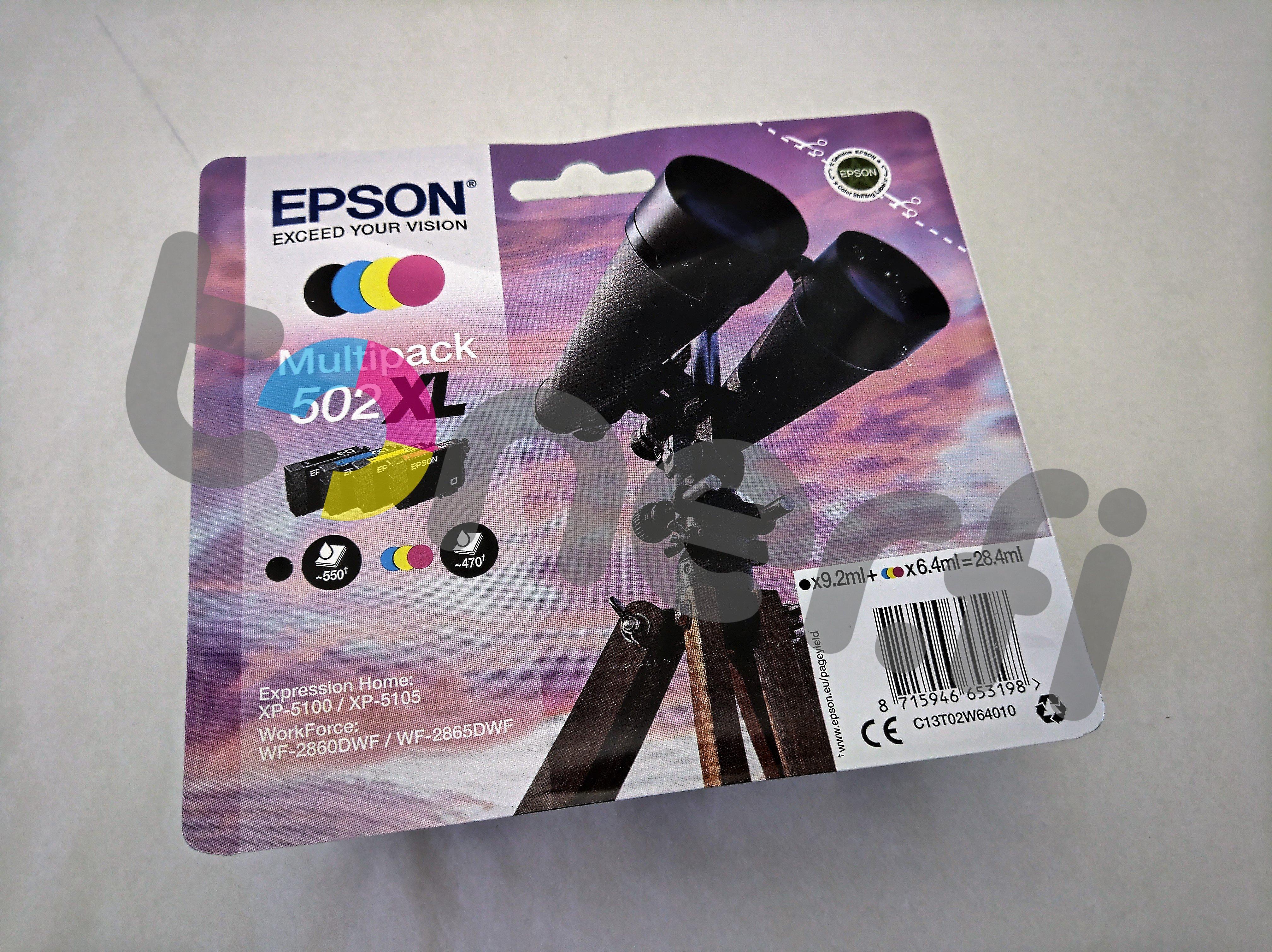 Epson 502 XL Multipack C13T02W64010