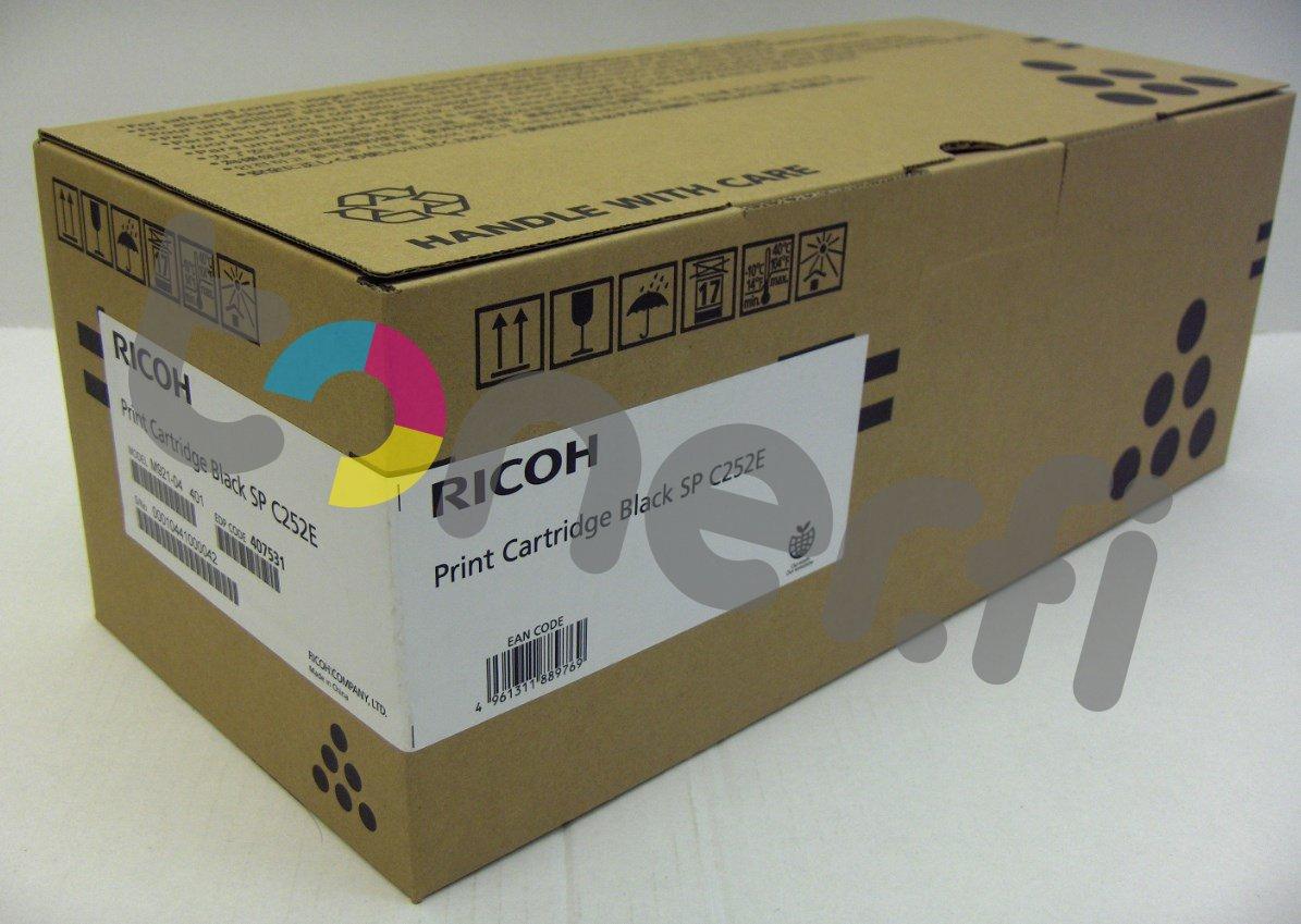Ricoh SP C252E Print Cartr. Musta