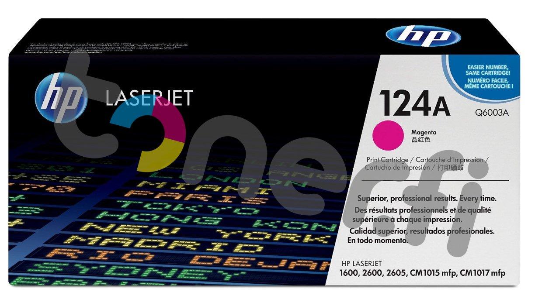 HP Q6003A Värikasetti Punainen 124A