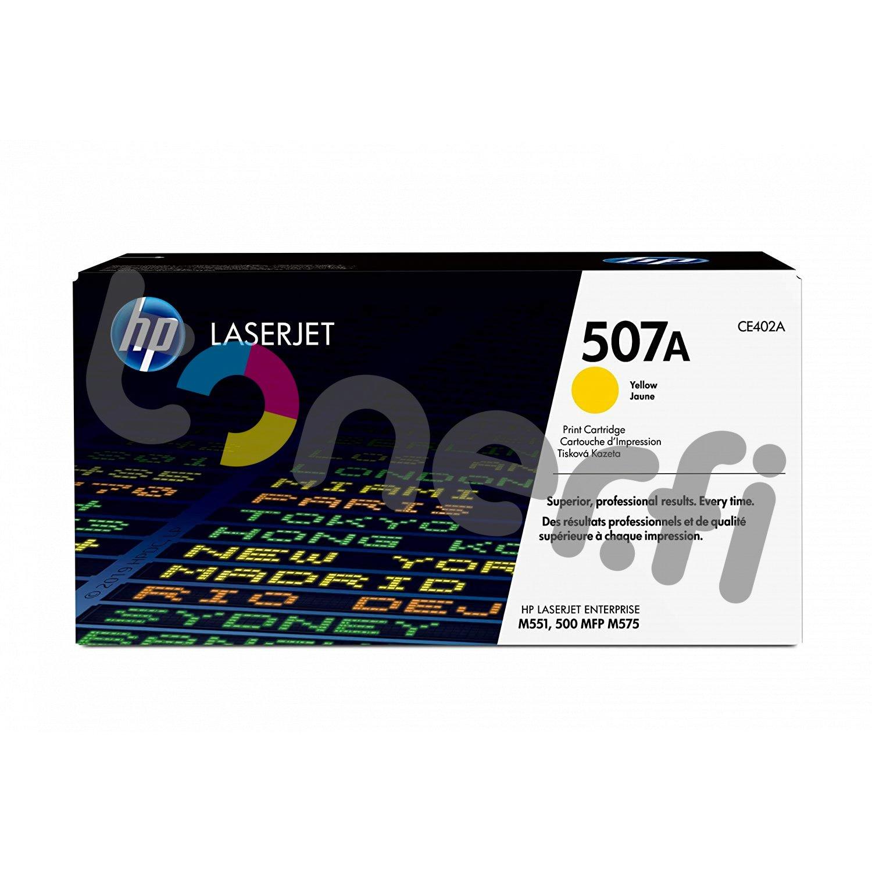 HP 507A Värikasetti Keltainen