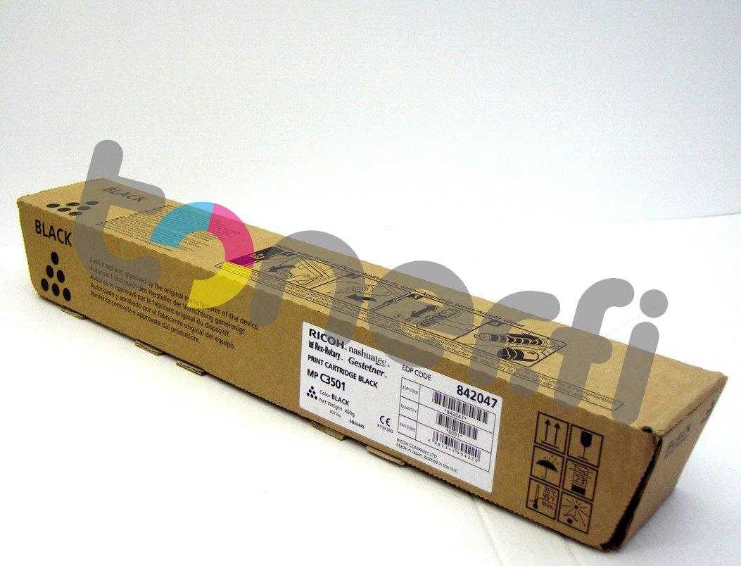 Ricoh MP C3501E Print Cartr. Musta