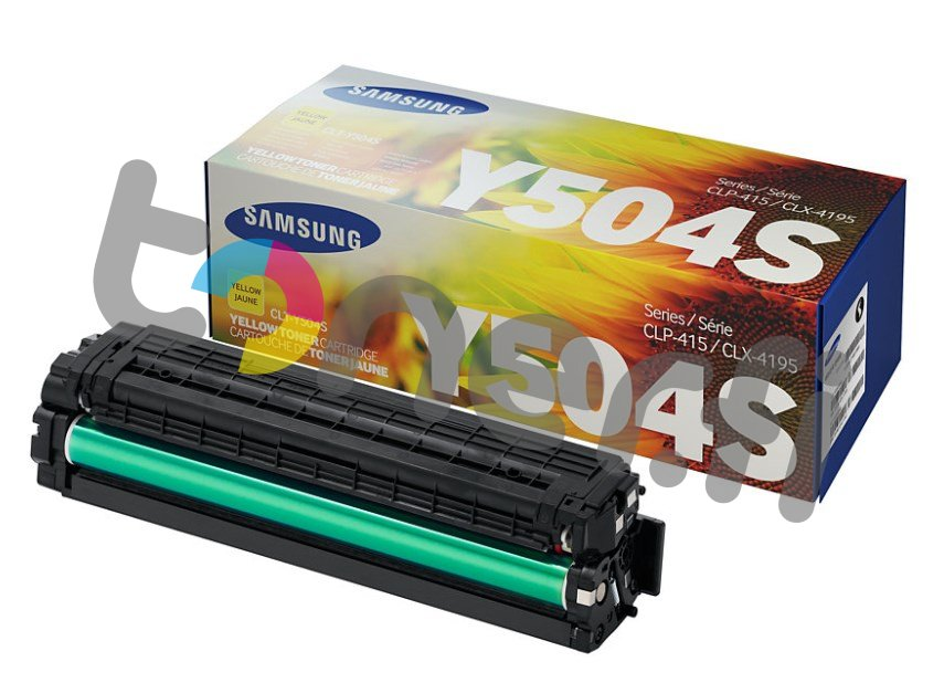 Samsung CLT-Y504S Värikasetti Keltainen