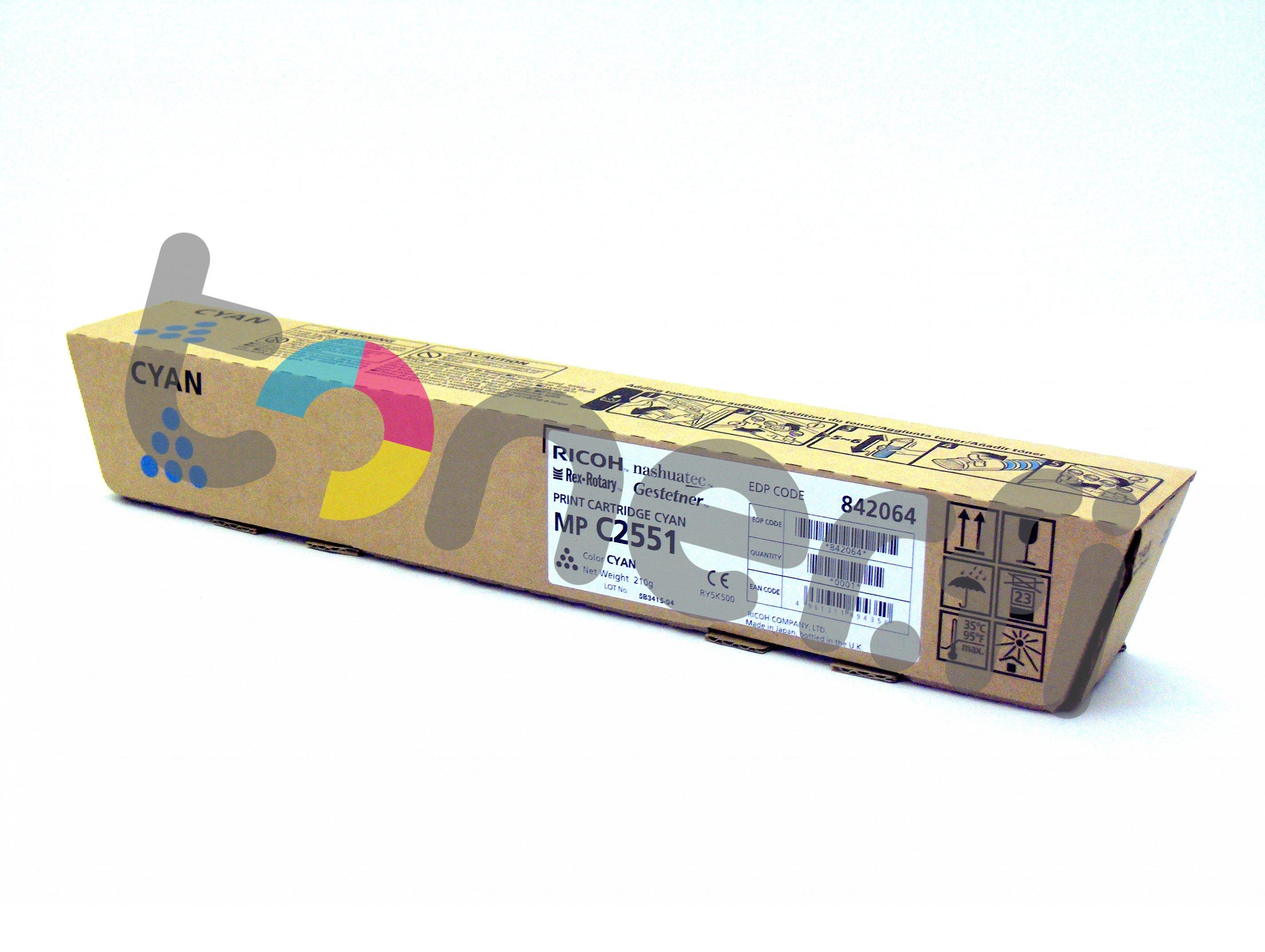 Ricoh MP C2551HE Print Cartr. Sininen