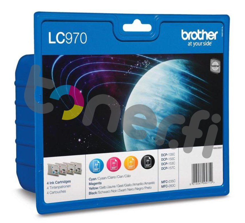 Brother LC970 Value Pack