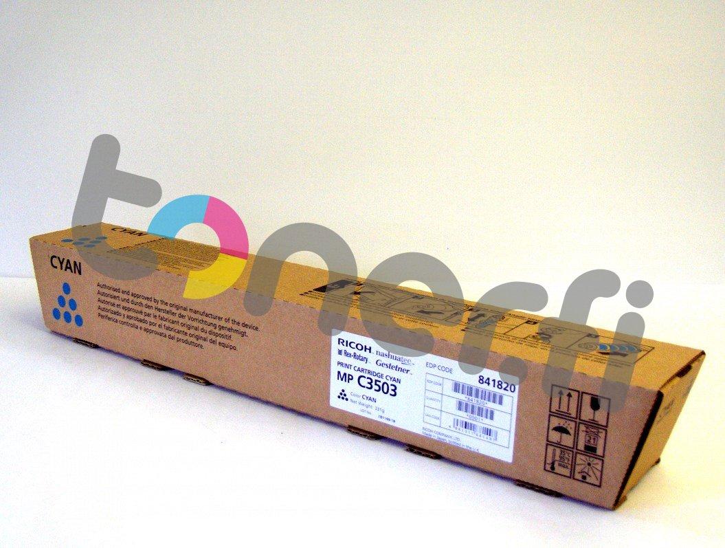 Ricoh MP C3503 Print Cartr. Sininen