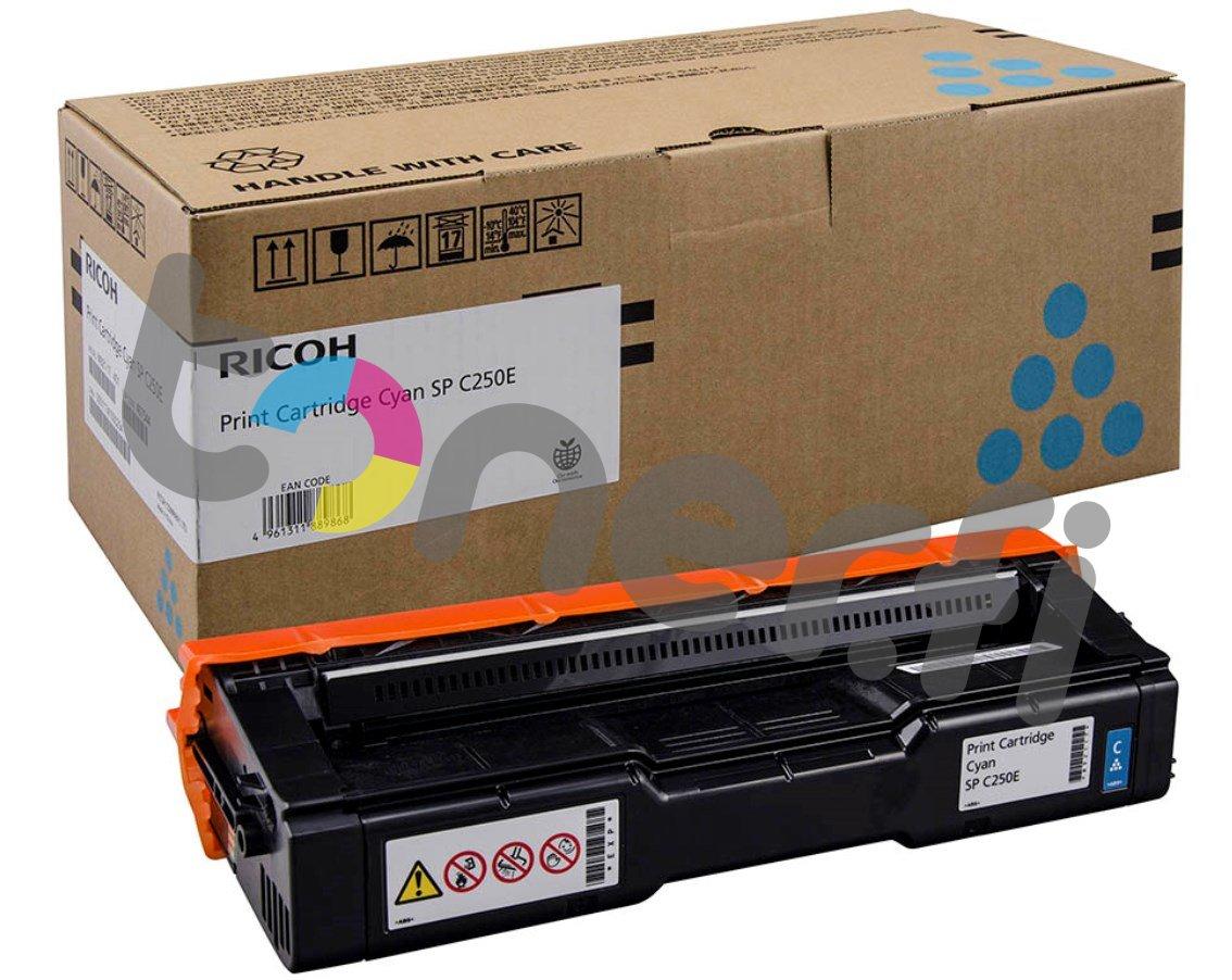 Ricoh SP C250E Print Cartr. Sininen