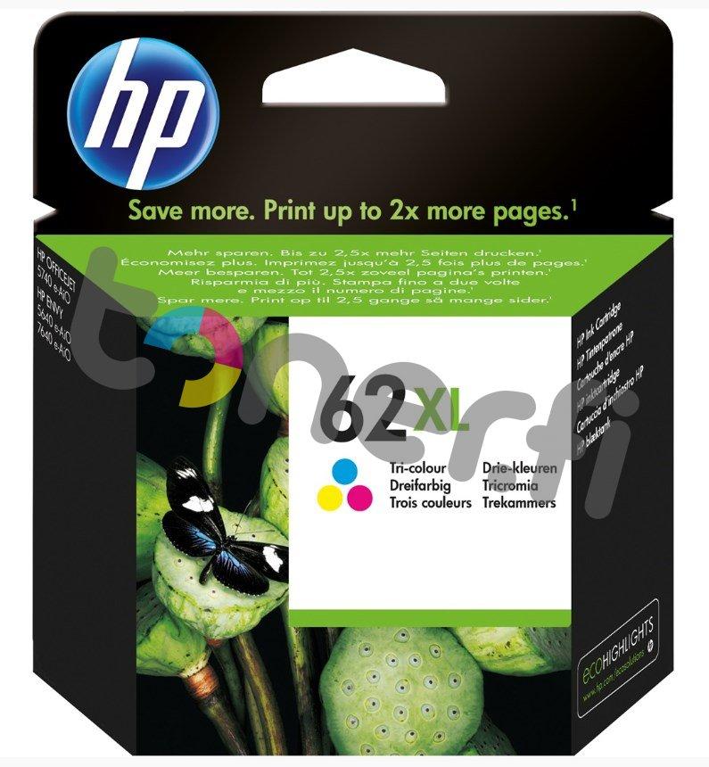HP C2P07AE Väri Muste N:o 62XL