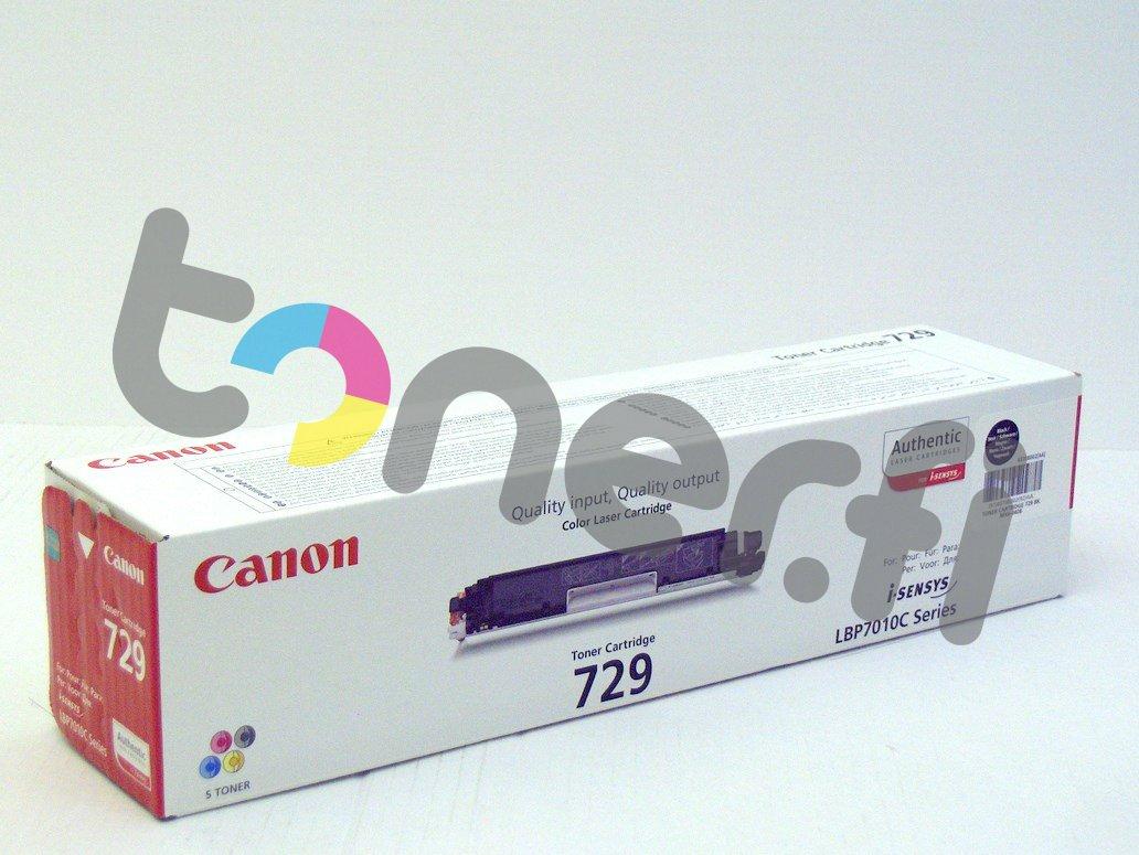Canon 729 Värikasetti Musta