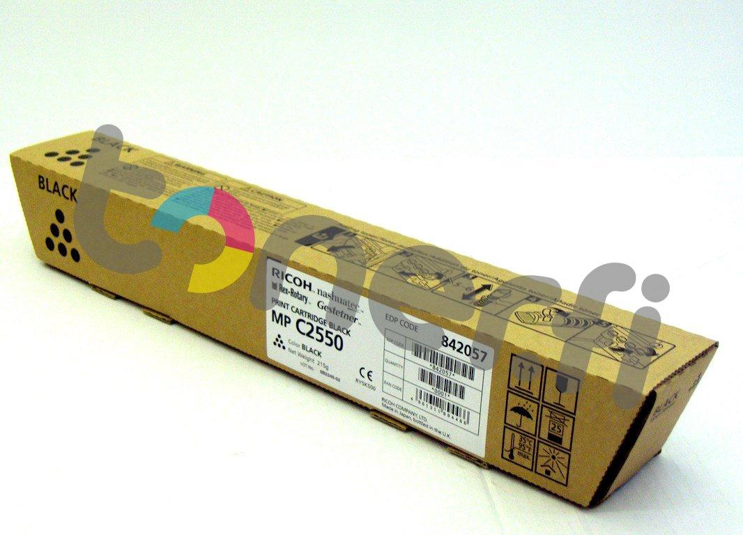 Ricoh MP C2550E Print Cartr. Musta