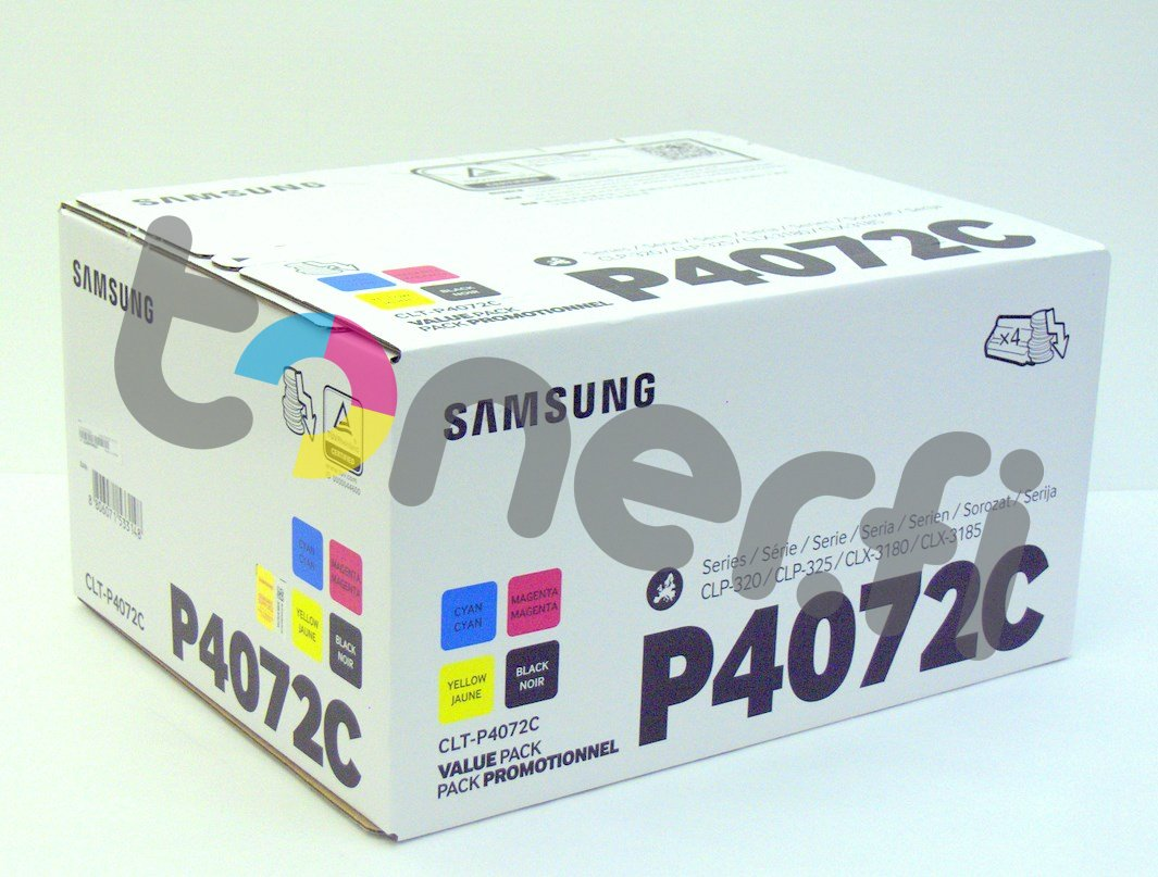 Samsung CLT-P4072C Värikasetti Value Pack