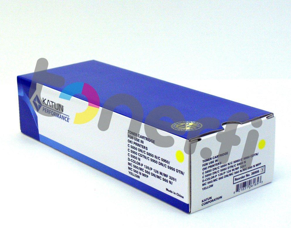 OKI C5850 Värikasetti Keltainen Katun p/n 38995