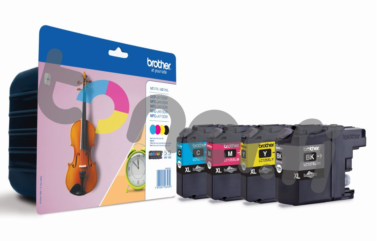 Brother LC127XL Value Pack