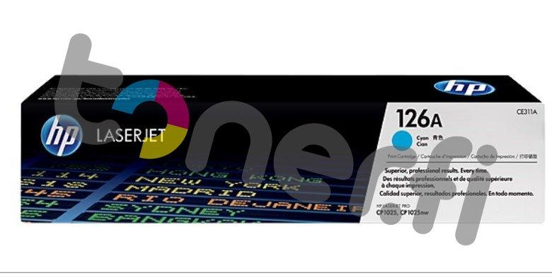 HP 126A Värikasetti Sininen