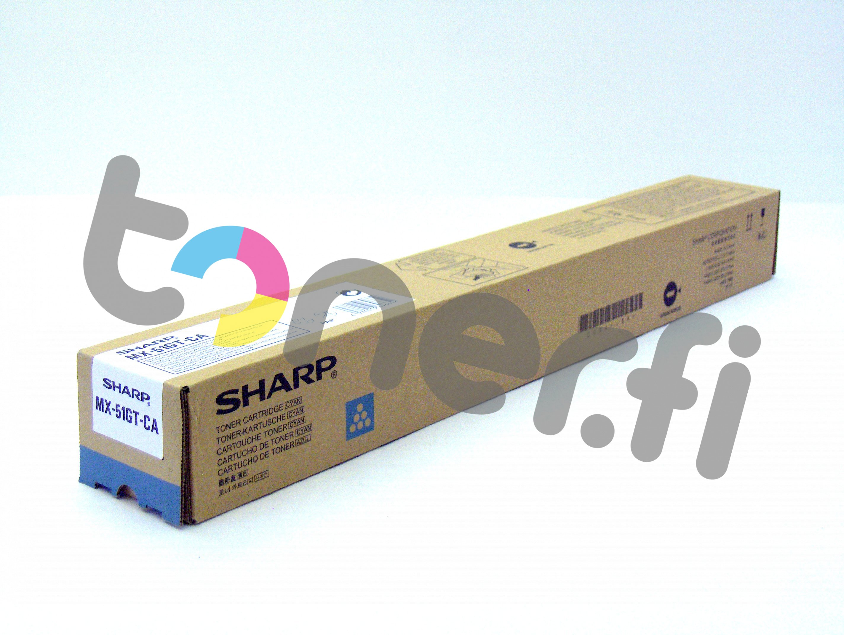 Sharp MX-51GTCA Värikasetti Sininen