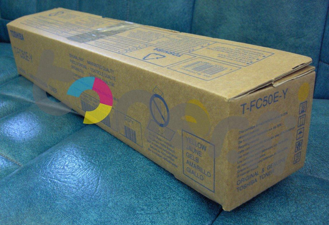 Toshiba T-FC50E-Y Värikasetti Keltainen