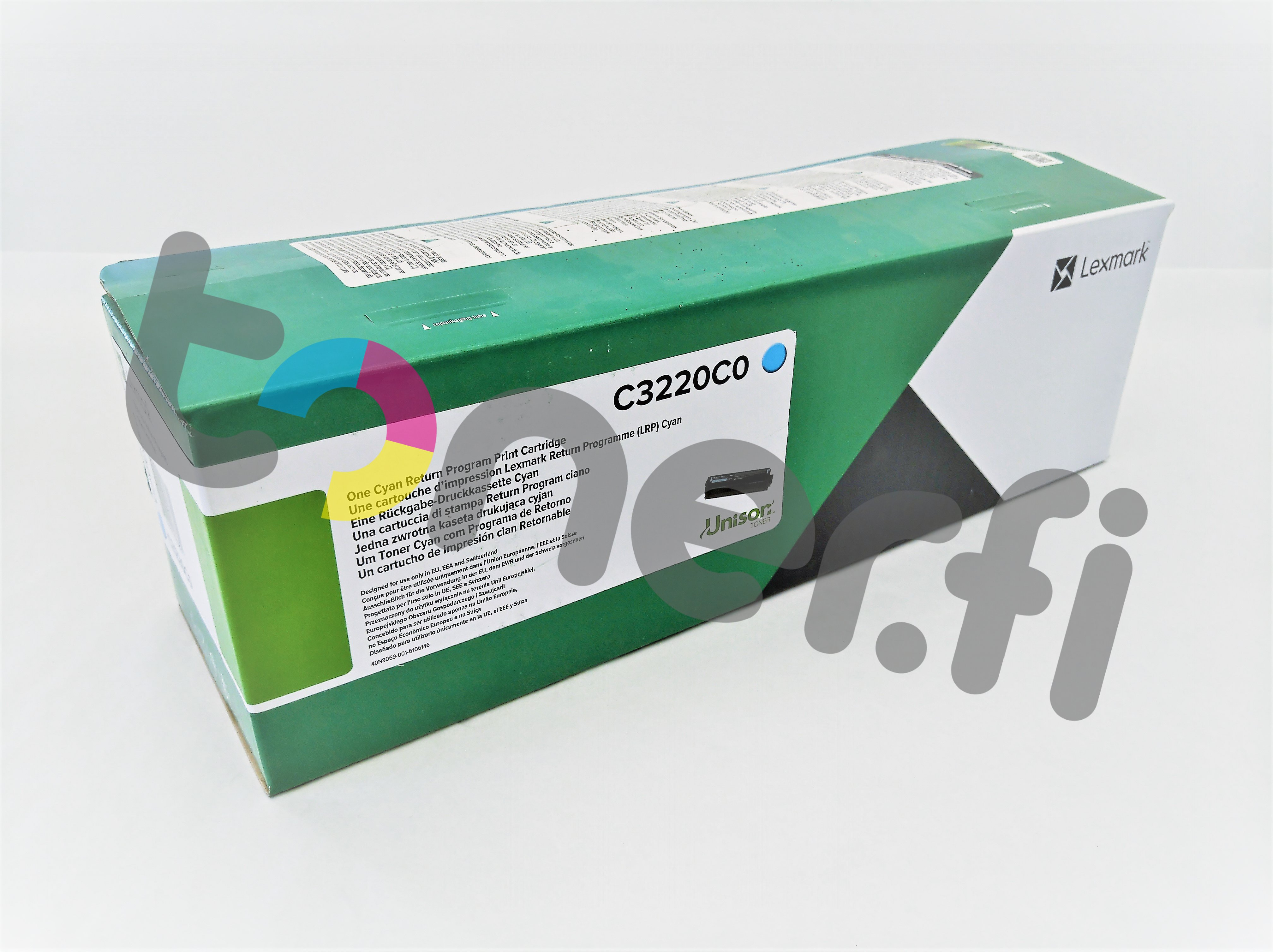 Lexmark C3224 Värikasetti Sininen C3220C0