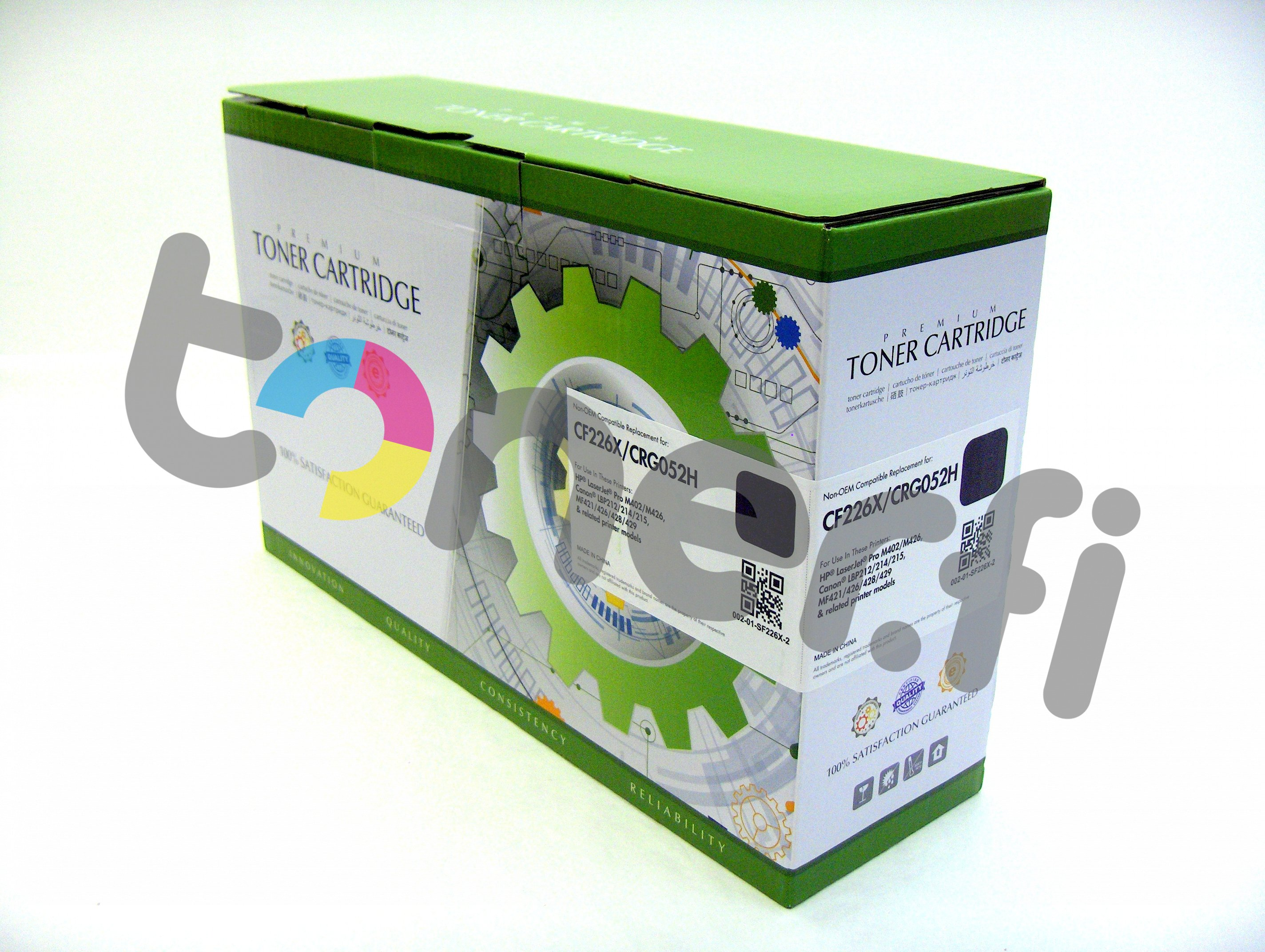 HP 26X Värikasetti Static [TARJOUS]