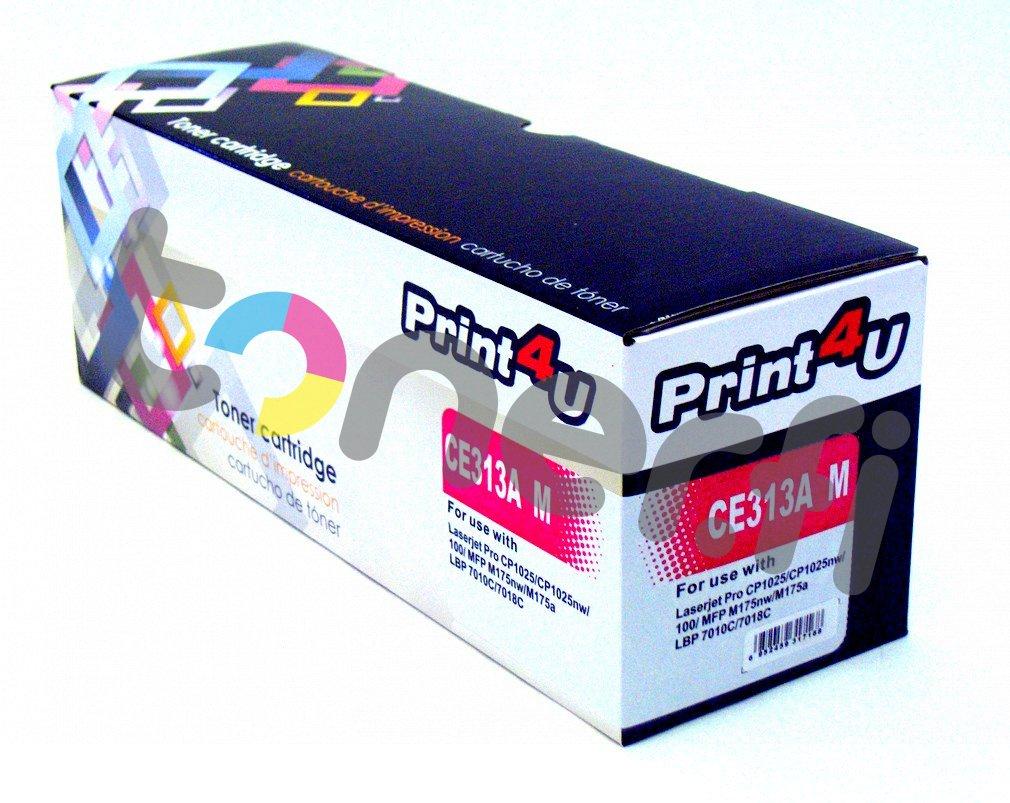 HP 126A Värikasetti Punainen Print4U