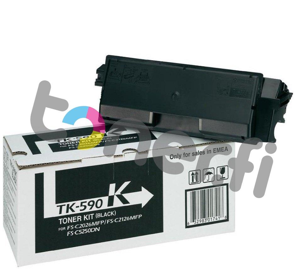 Kyocera TK-590K Värikasetti Musta