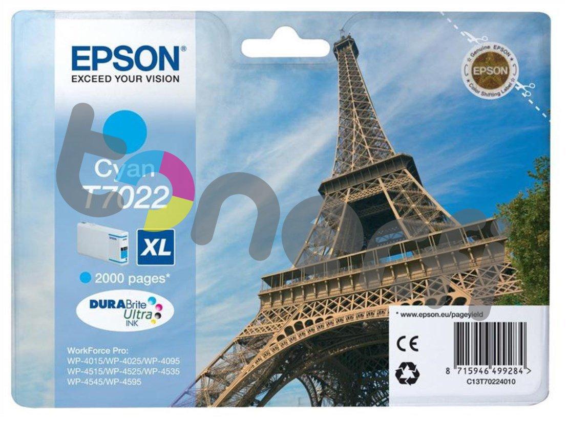 Epson C13T70224010 XL Muste Sininen