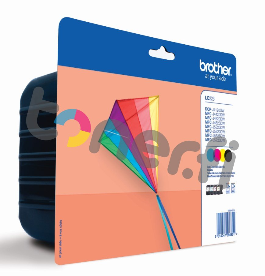 Brother LC223 Value Pack