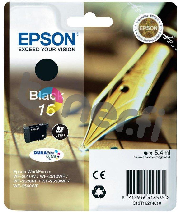 Epson C13T16214010 Muste Musta