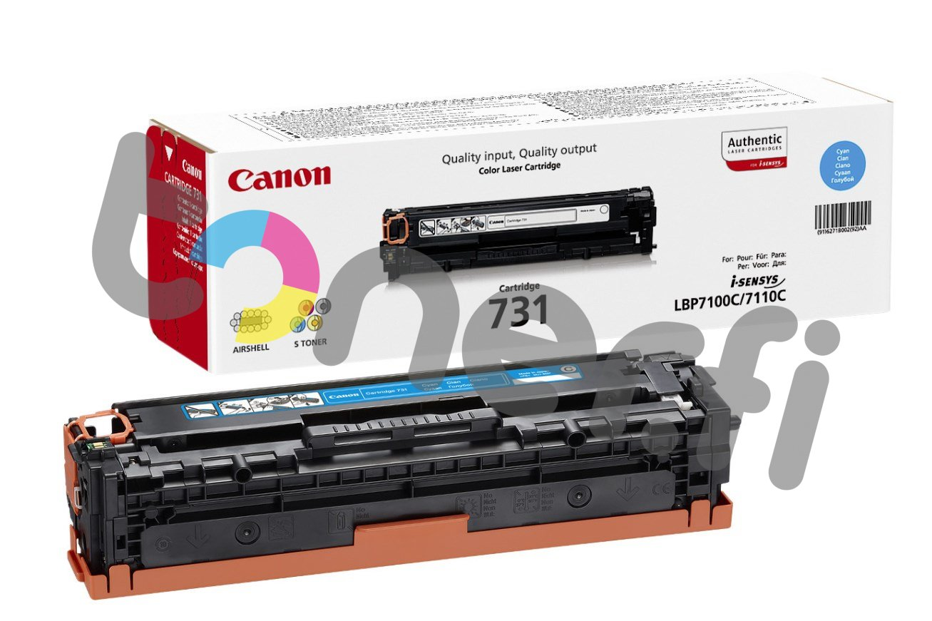 Canon 731 Värikasetti Sininen