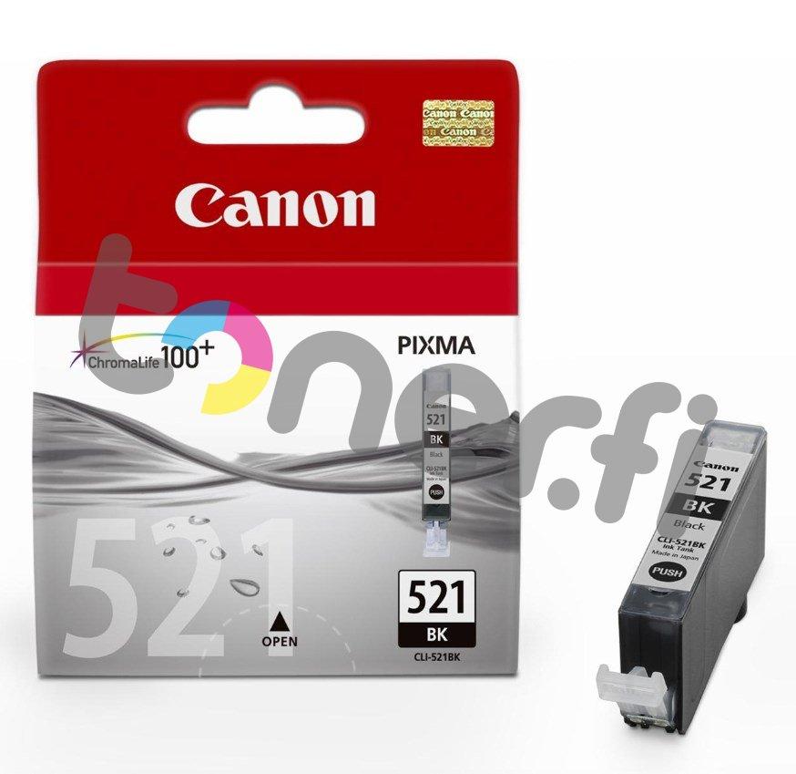 Canon CLI-521BK Musta Muste