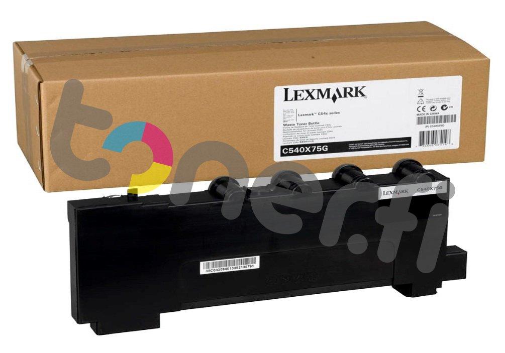 Lexmark C540 Hukkavärisäiliö C540X75G