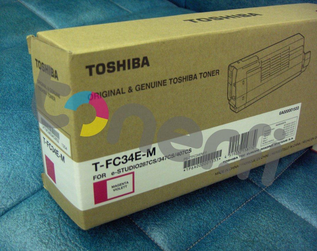 Toshiba T-FC34E-M Värikasetti Punainen