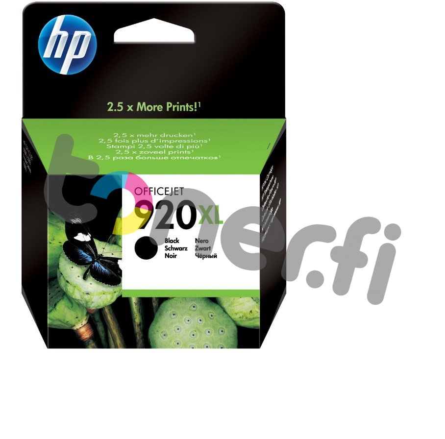 HP CD975AE Musta Muste N:o 920XL
