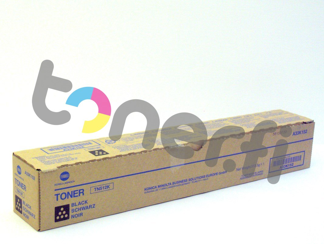 Konica TN512K Värikasetti Musta