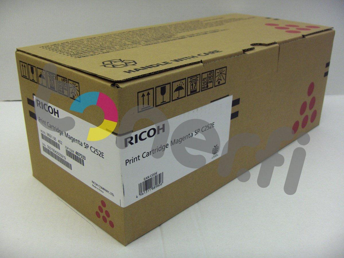 Ricoh SP C252E Print Cartr. Punainen