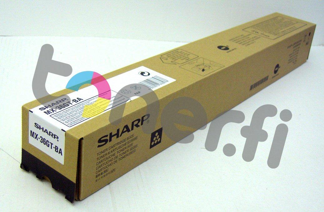 Sharp MX-36GTBA Värikasetti Musta