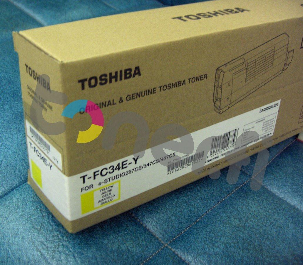 Toshiba T-FC34E-Y Värikasetti Keltainen