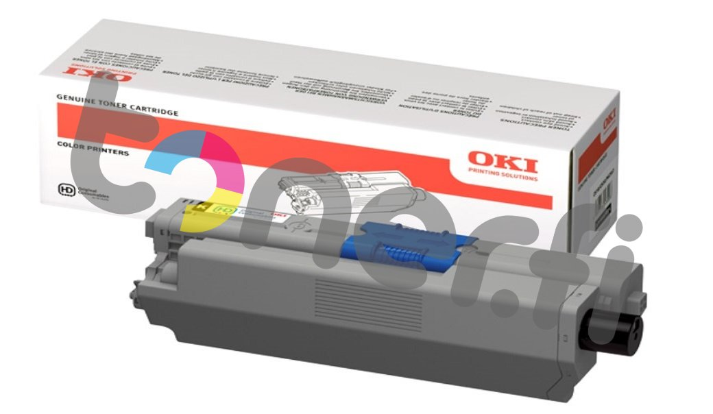 OKI C310 Värikasetti Musta